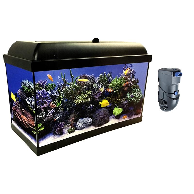 kit completo aqualed pro hydra de 25 litros con filtro hydra