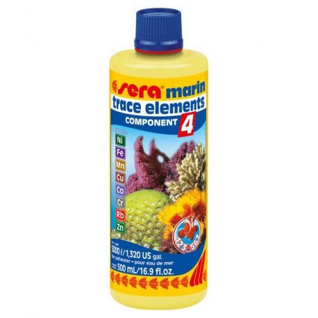 SERA marin COMPONENT 4 trace elements Kationics 250ml