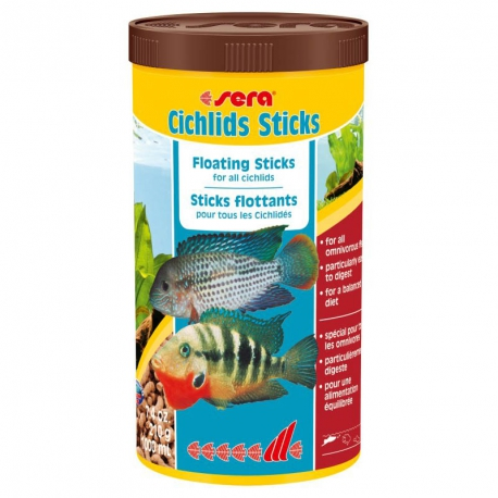 SERA CICHLIDS STICKS 1L