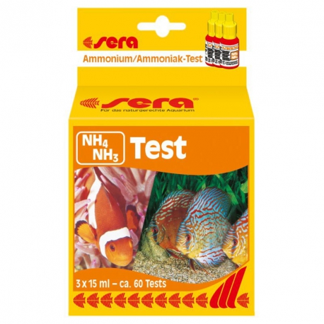 TEST NH4 NH3 SERA