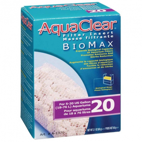 AQUA CLEAR Biomax 20