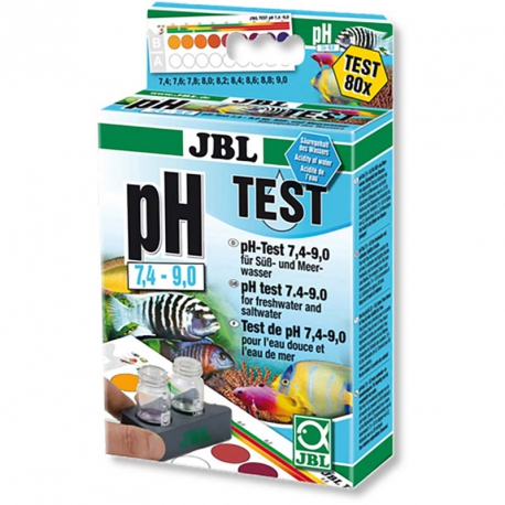 TEST PH 7,4-9,0 JBL