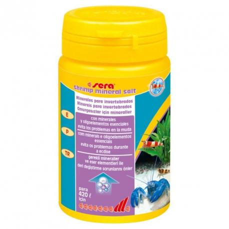 Sera Shrimp Mineral Salt