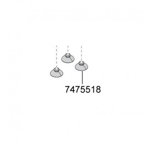 Ventosas Eheim Compact ON 300/600