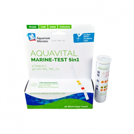 Aquavital Marine-Test 5 en 1