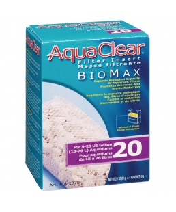 AQUA CLEAR Biomax 20