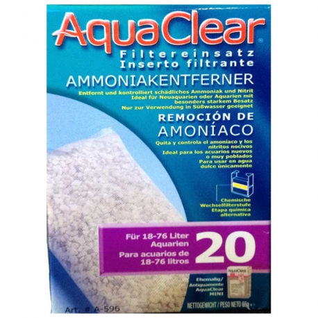 AQUA CLEAR ANTIAMONI 20