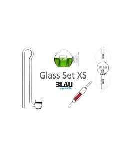 CO2 GLASS SET BLAU